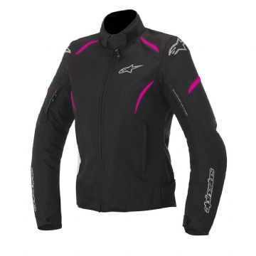 Alpinestars Stella Gunner Motorcycle Jacket Black Fuschia